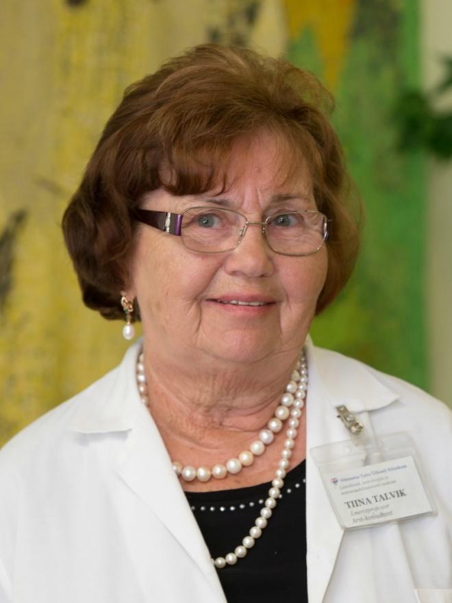Prof emeritus Tiina Talvik
